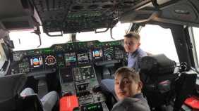Exeter Air Cadets Visit RAF Brize Norton.