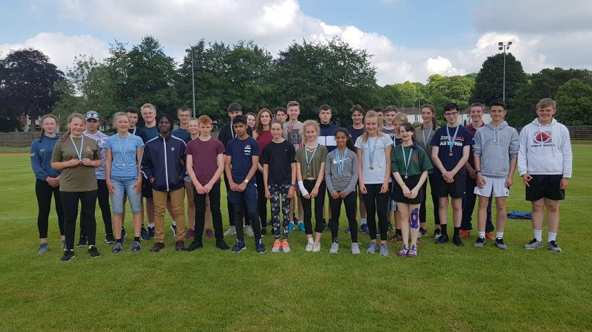 Devon & Somerset Wing Take 3rd Place at Regional Athletics Competition.
